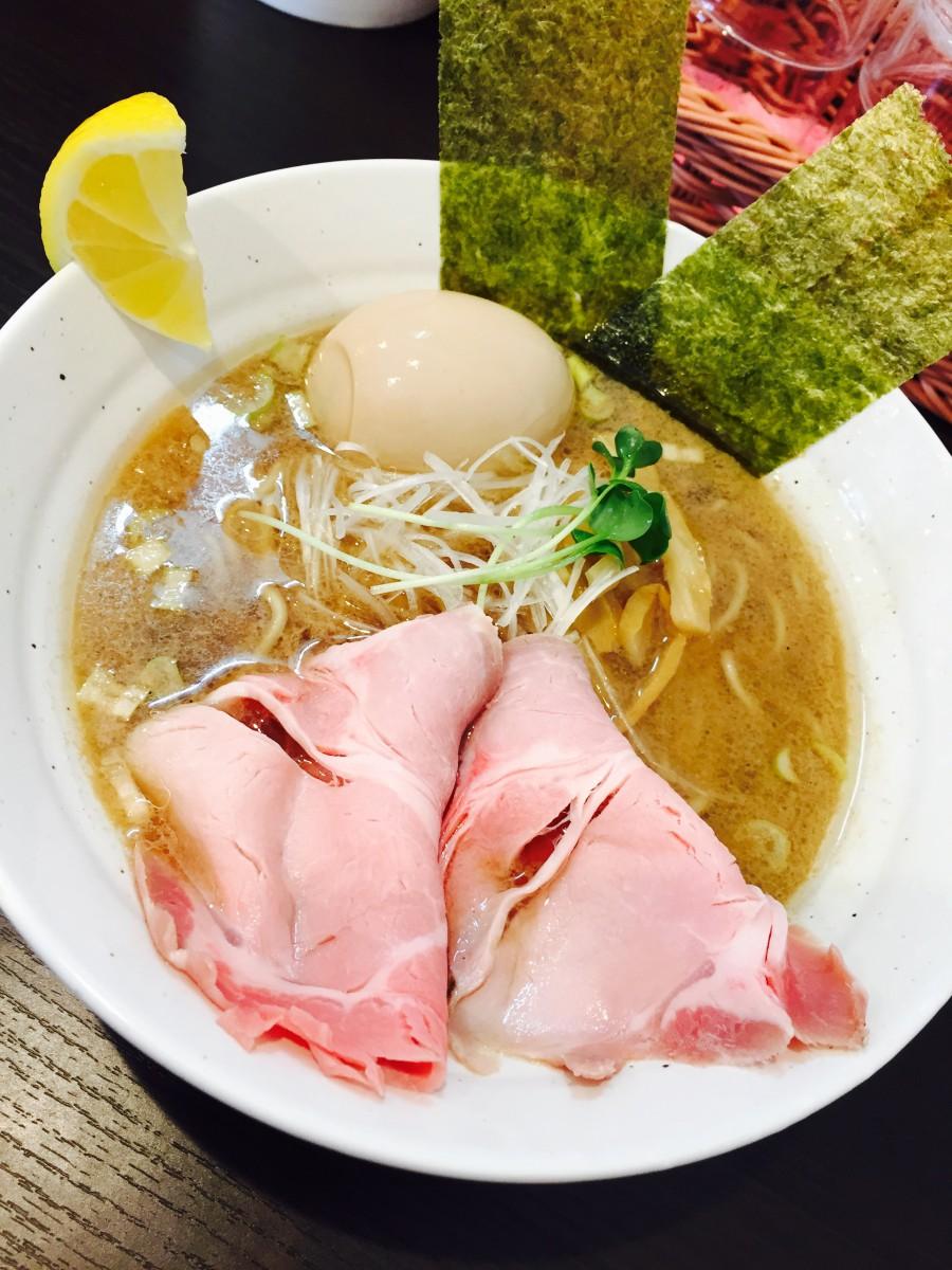 念願の鯛ラーメン食べました(*´ㅂ`*)♥