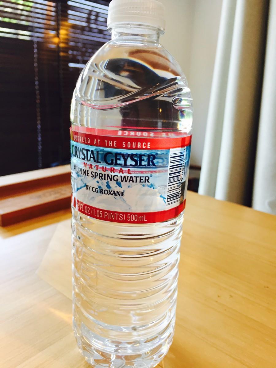 黄土よもぎ蒸しのお客様にお水のペットボトル1本サービスになりました(*´╰╯`๓)♬